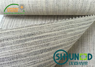 Garments Eco - Friendly Fusible Interlining Fabric Elasticity High Weight