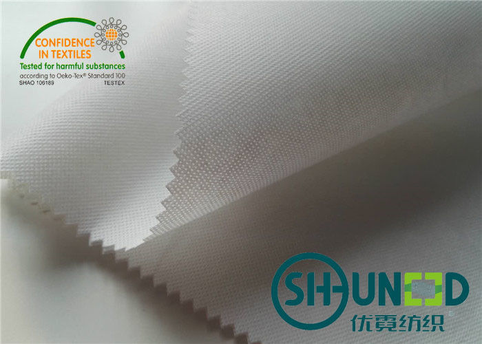 100% Polyester Thermo Bond Non Woven Base Fabric For Interlining And Waistband