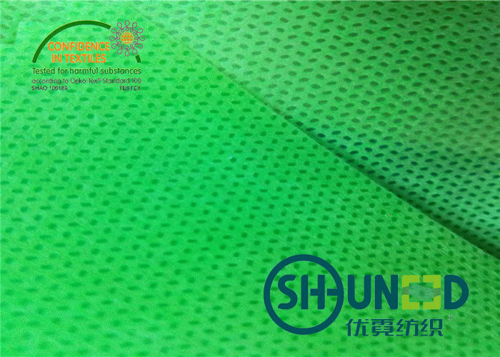 Green Biodegradable Pp Spunbond Non Woven Fabric Breathable For Agriculture And Bag Usage