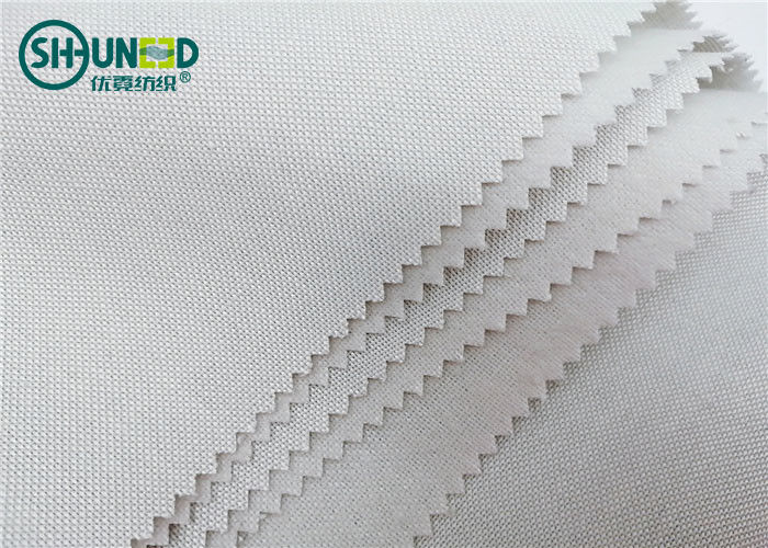240gsm Single Side Brushed Tie Interlining Fabric Necktie Lining Roll